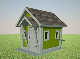 Домик для детей, размер XS
